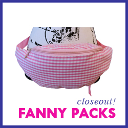 Closeout Fanny Packs