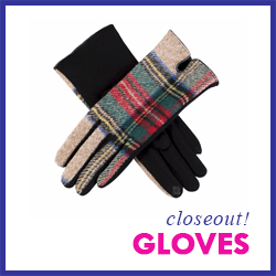 Closeout Touchscreen Gloves
