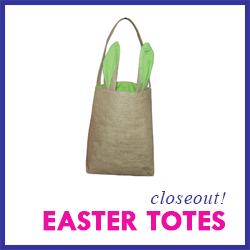 Closeout Easter Totes