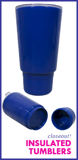 Closeout Insulated Tumblers