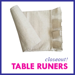 Closeout Farmhouse Table Runners