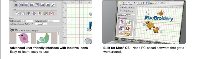 Macbroidery Embroidery Lettering Software For Mac Only