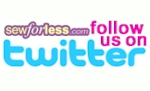 Follow Sewforless.com On Twitter!