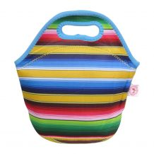 The Coral Palms® Neoprene Lunch Tote - Serape Fiesta Collection