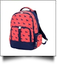 Backpack Embroidery Blanks - DOG DAYS - CLOSEOUT