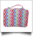 The Coral Palms® Bible Cover with Zipper Closure - MULTI-COLOR CHEVRON