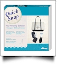 Quick-Snap for Multi-Needle Janome/Melco Version B Embroidery Machine Hooping Aid