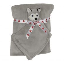 Husky Blankey Buddy and Blanket Set