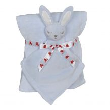 Bunny Blankey Buddy and Blanket Set - BLUE