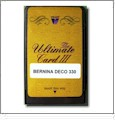 The Ultimate Card Rewritable Blank Memory Card - Bernina Deco 330 Format
