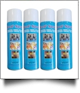 Brod' Spray Temporary Adhesive Spray - Four Pack - Large 500ML Can - GROUND ONLY