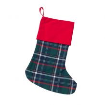 Tartan Plaid Stocking - CLOSEOUT