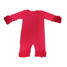 Icing Christmas Snapsuit Romper - RED - CLOSEOUT