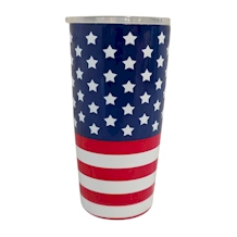 The Coral Palms® 20oz Double Wall Stainless Steel Super Tumbler - OLD GLORY