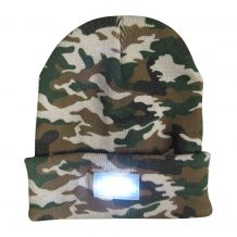 The Coral Palms� LED Stocking Cap Embroidery Blanks - CAMO