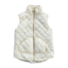 Diamond Quilted Puffy Vest - IVORY - CLOSEOUT