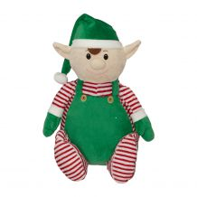 Embroidery Buddy Stuffed Animal - Elf Buddy 16""