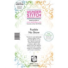 WunderStitch 1.5oz No Show Fusible Mesh Cutaway Embroidery Stabilizer 12in x 10yd Roll - INCLUDES 10 FREE EMBROIDERY NEEDLES