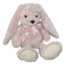 Super Soft Big Ear Bunny - Peachy Pink