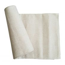 "Classic Rustic Farmhouse Burlap-Look Linen 14""x120"" Table Runner - CLOSEOUT"