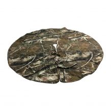 The Coral Palms� Quilted Heirloom Farmhouse Christmas Tree Skirt - CAMO - CLOSEOUT