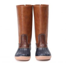 The Coral Palms� Kids Short Matte Duck Boots - BROWN - CLOSEOUT