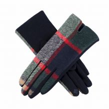 Designer-Look Touchscreen Gloves - MULTI PLAID - CLOSEOUT