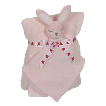 Bunny Blankey Buddy and Blanket Set - PINK