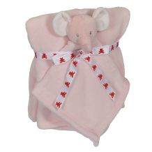 Elephant Blankey Buddy and Blanket Set - PINK