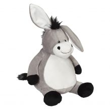 Embroidery Buddy Stuffed Animal - Duncan Donkey 16""