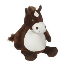 Embroidery Buddy Stuffed Animal - Howie Horse 16""