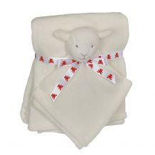 Lamb Blankey Buddy and Blanket Set