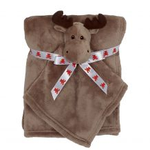 Moose Blankey Buddy and Blanket Set