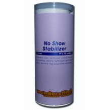 WunderStitch 1.5oz Black No Show Mesh Cutaway Embroidery Stabilizer 9in x 12yd Roll - INCLUDES 10 FREE EMBROIDERY NEEDLES
