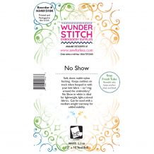 WunderStitch 1.5oz No Show Mesh Cutaway Embroidery Stabilizer 12in x 10yd Roll - INCLUDES 10 FREE EMBROIDERY NEEDLES