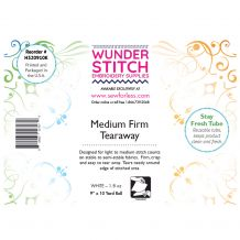 WunderStitch 1.8oz Medium Weight Tearaway Embroidery Stabilizer 9in x 10yd Roll - INCLUDES 10 FREE NEEDLES