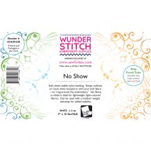 WunderStitch 1.5oz No Show Mesh Cutaway Embroidery Stabilizer 9in x 10yd Roll - INCLUDES 10 FREE EMBROIDERY NEEDLES