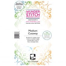 WunderStitch 2.5oz Medium Weight Cutaway Embroidery Stabilizer 12in x 10yd Roll - INCLUDES 10 FREE EMBROIDERY NEEDLES