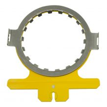 "HoopTech Products 5.5"" Round Window Set for Slimline 1 Rail Mounted Clamping System"