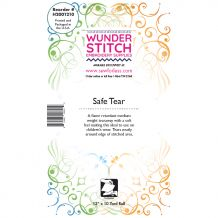 WunderStitch E-Z Safe Tear Flame Retardent Tearaway Embroidery Stabilizer 12in x 10yd Roll - INCLUDES 10 FREE NEEDLES