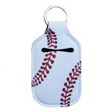 Neoprene Hand Sanitizer Holder for 1.0oz/30ml Bottles - BASEBALL