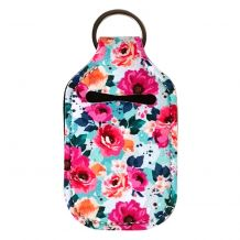 Neoprene Hand Sanitizer Holder for 1.0oz/30ml Bottles - MANY ROSES