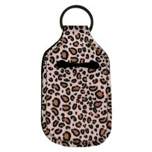 Neoprene Hand Sanitizer Holder for 1.0oz/30ml Bottles - LEOPARD
