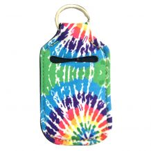 Neoprene Hand Sanitizer Holder for 1.0oz/30ml Bottles - TIE DYE