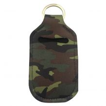 Neoprene Hand Sanitizer Holder for 1.0oz/30ml Bottles - CAMO