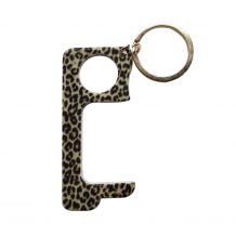 Touchless Hands-Free Door Opener Keychain - LEOPARD