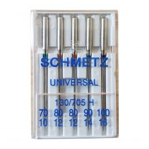 Schmetz Universal Sewing Needles - 5 Needle Variety Pack 70/10 to 100/16