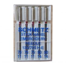 Schmetz Embroidery Needles Variety Pack - 5 Needle Pack