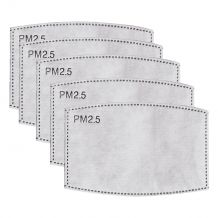 Kid-Sized PM2.5 Activated Carbon Filter Mask Insert - 10/pack