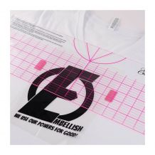 Embellish T Shirt Heat Transfer Vinyl Centering Ruler by Hope Yoder